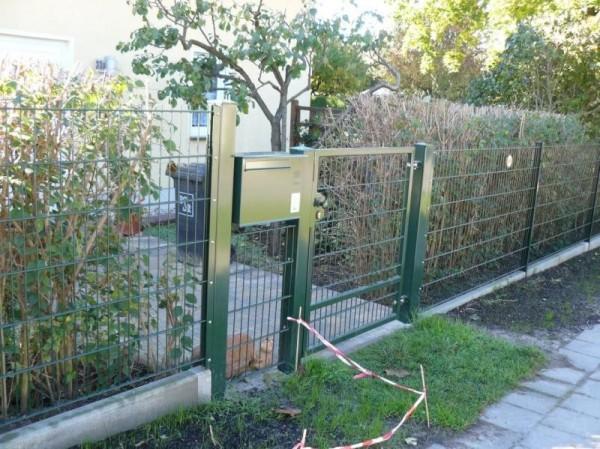 ogrodzenie proste model 653