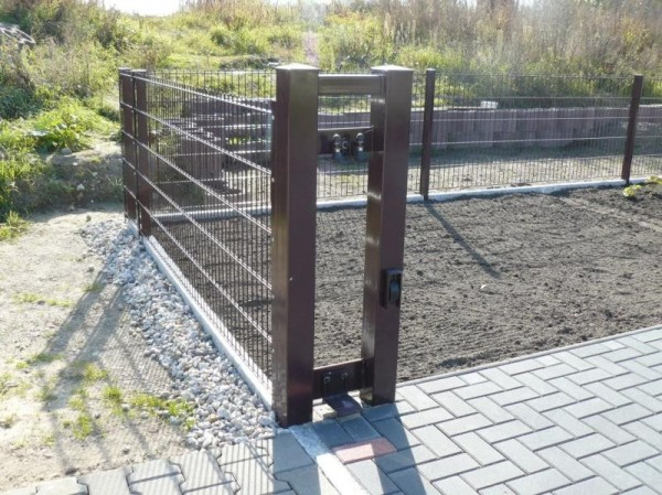 ogrodzenie proste model 676